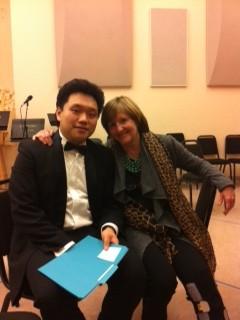 Li Yi and Frederica von Stade