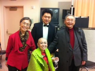 Li Yi and Zheng Cao's Family
